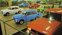 soviet cars bright colors