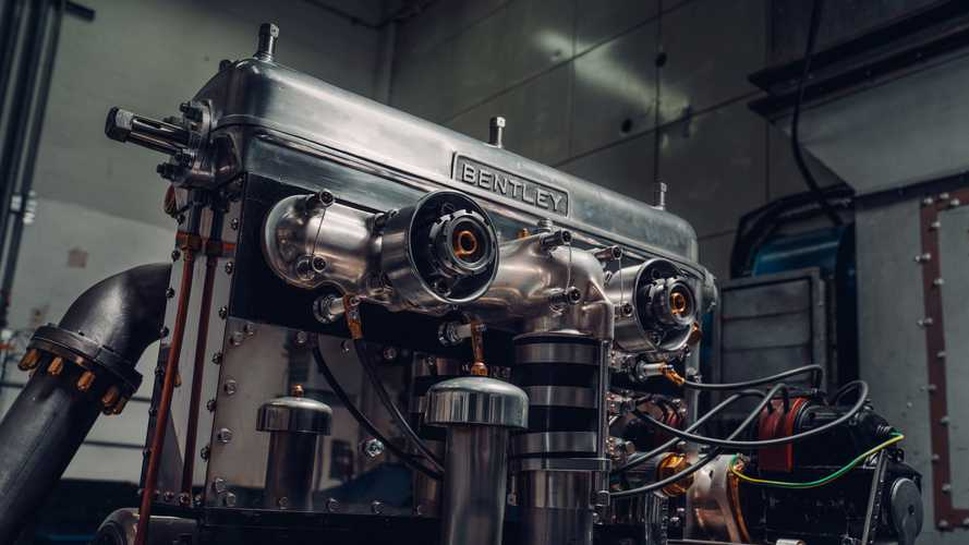 Bentley 1928 Blower Engine Revival Fires Up