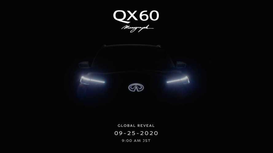 Infiniti назвала дату премьеры нового QX60