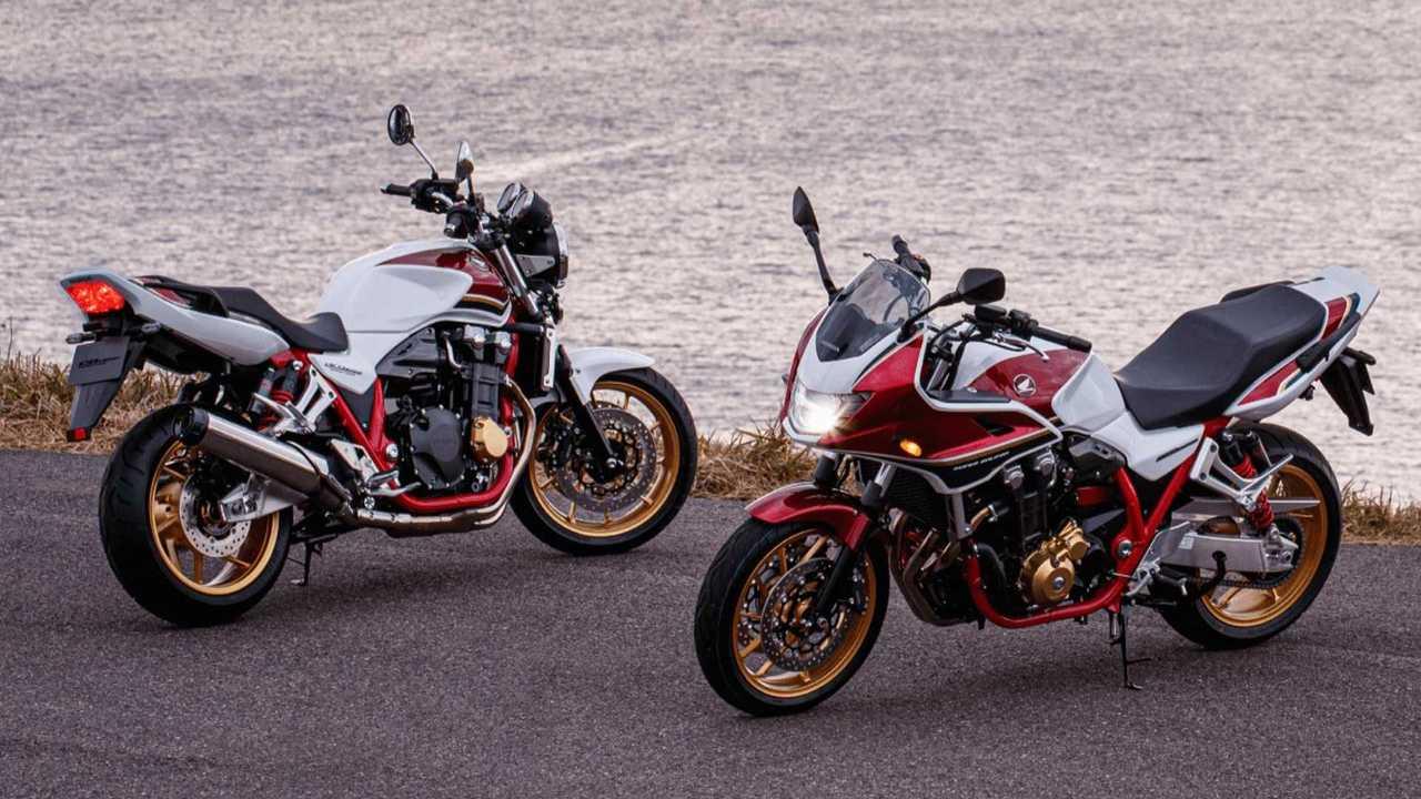 Honda CB1300 Super Four And Super Bol D'Or