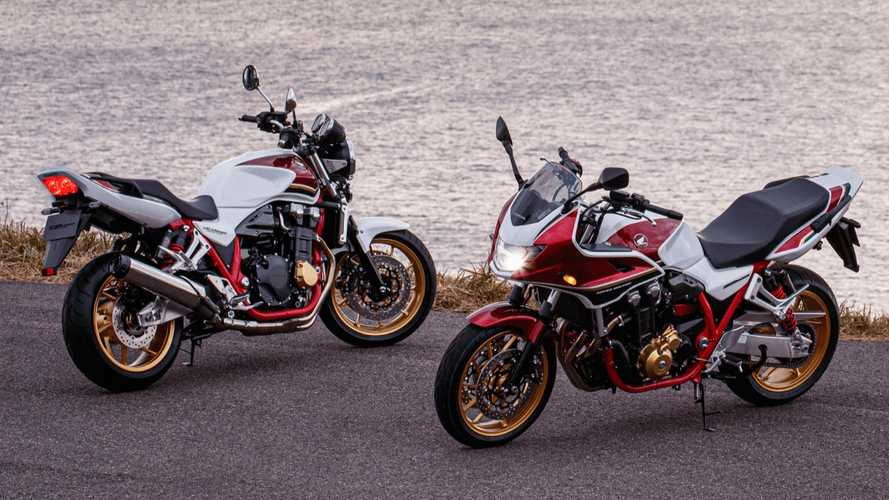 Honda CB1300 Super Four And Super Bol D'Or Launched In Japan