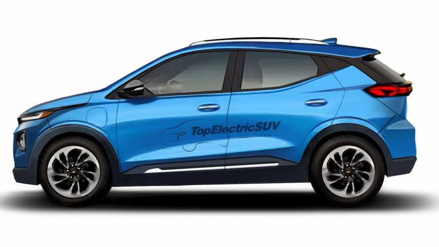 2022 Chevy Bolt EUV Unofficially Rendered Based On Teaser Images