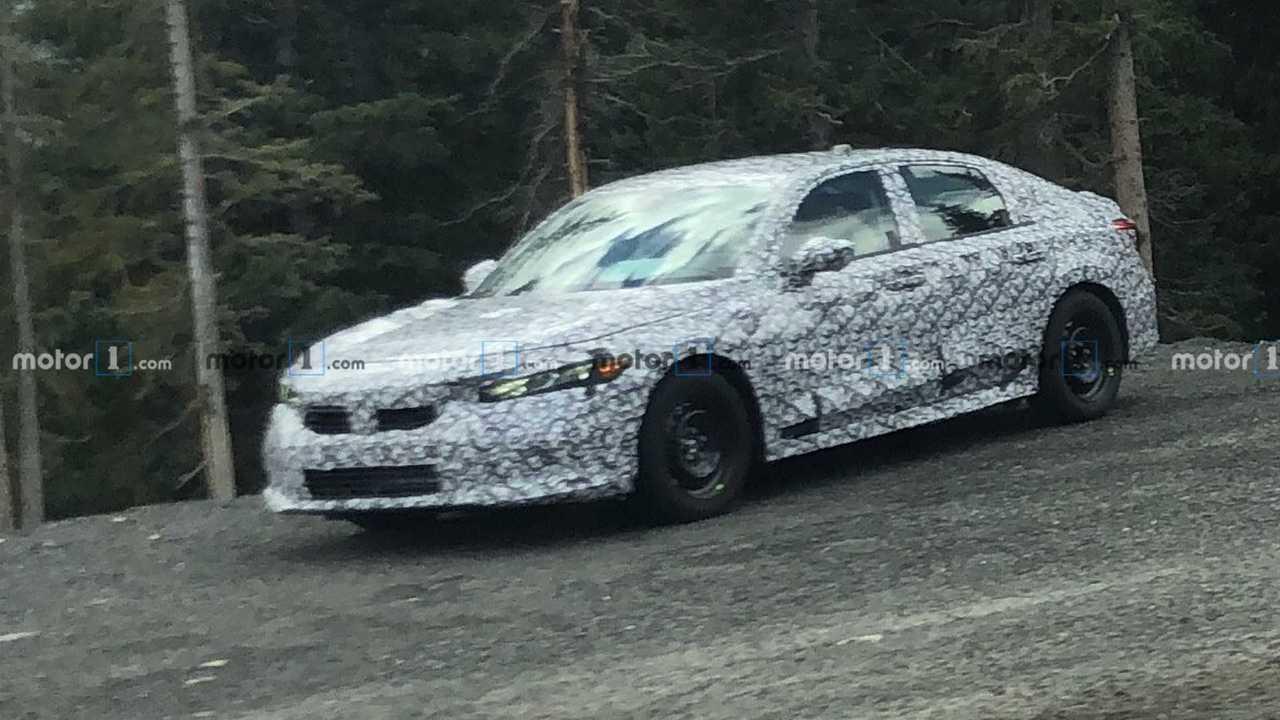Yeni Nesil Honda Civic Casus Fotoğraflar