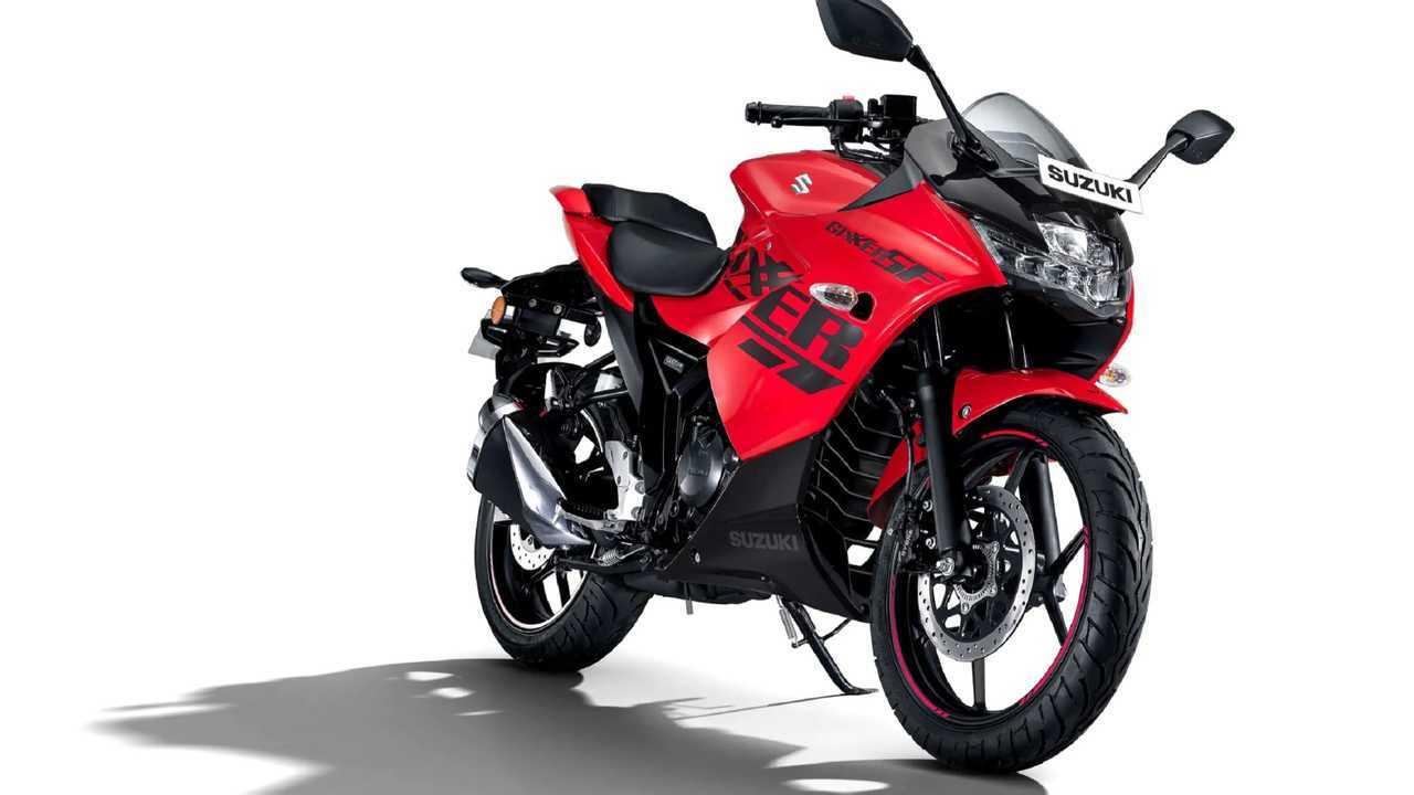 Suzuki Gixxer Mira Red