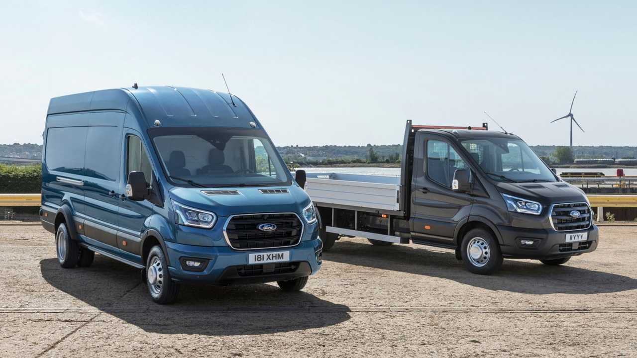 Az új 5 tonnás Ford Transit