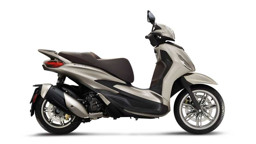 Piaggio Beverly Scooters Get Euro 5 And Styling Update