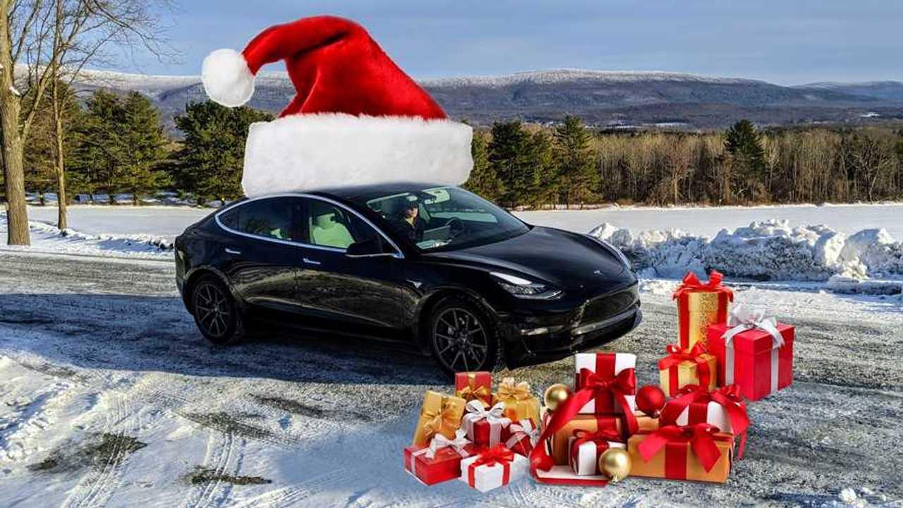 Model 3 Christmas