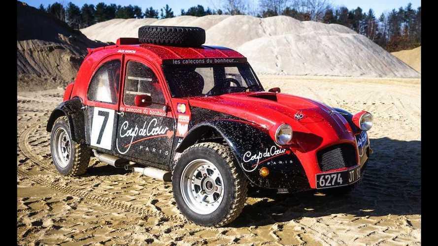 Cette Citroën 2CV très spéciale est à vendre