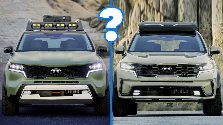 Kia Sorento, vi piace di più la Yosemite o la Zion?
