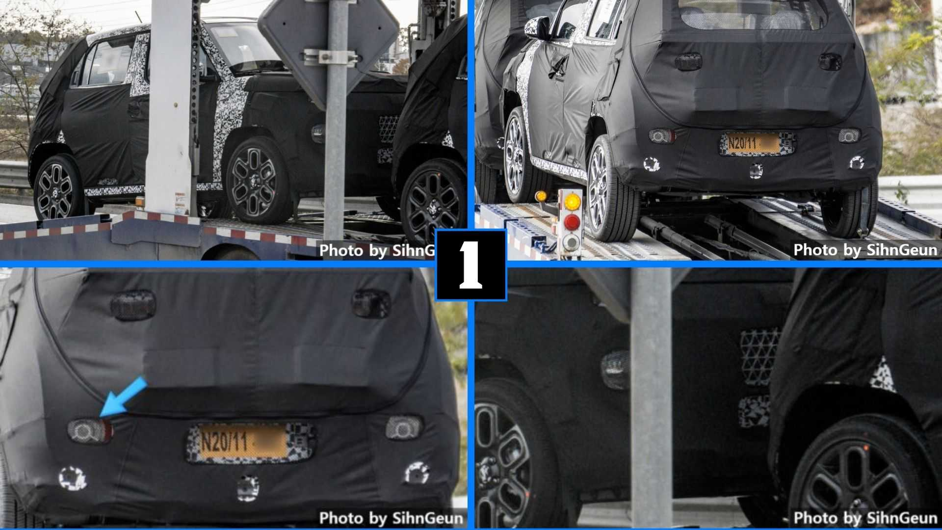 Hyundai Spied Testing Extremely Small Crossover With Skinny Tires