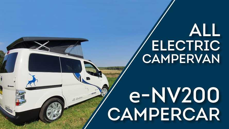 UK Company Converts Nissan e-NV200 Into Electric Camper Van