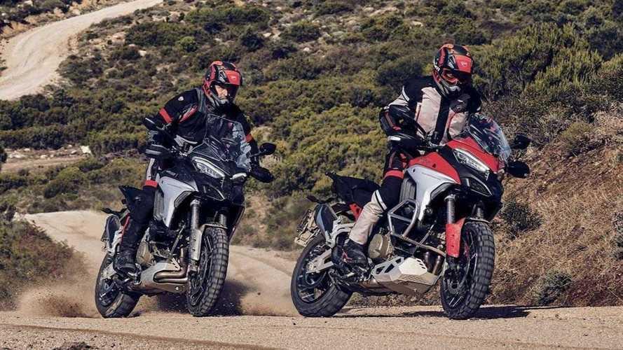 Nova Ducati Multistrada V4 é revelada com 170 cv e radares frontal e traseiro