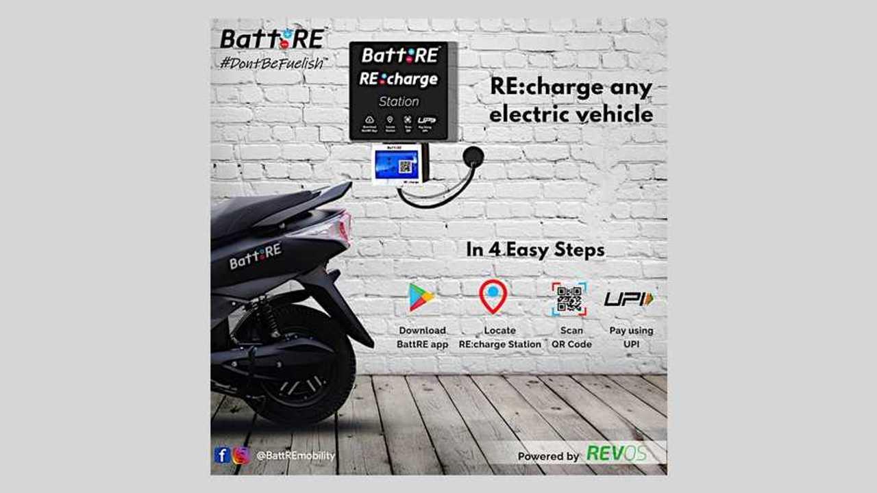 BattRE Recharge Station