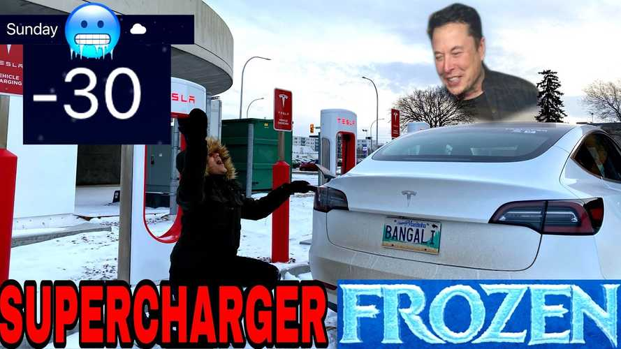 Canada: Tesla Model 3 Fails To Supercharge In -30°C Weather