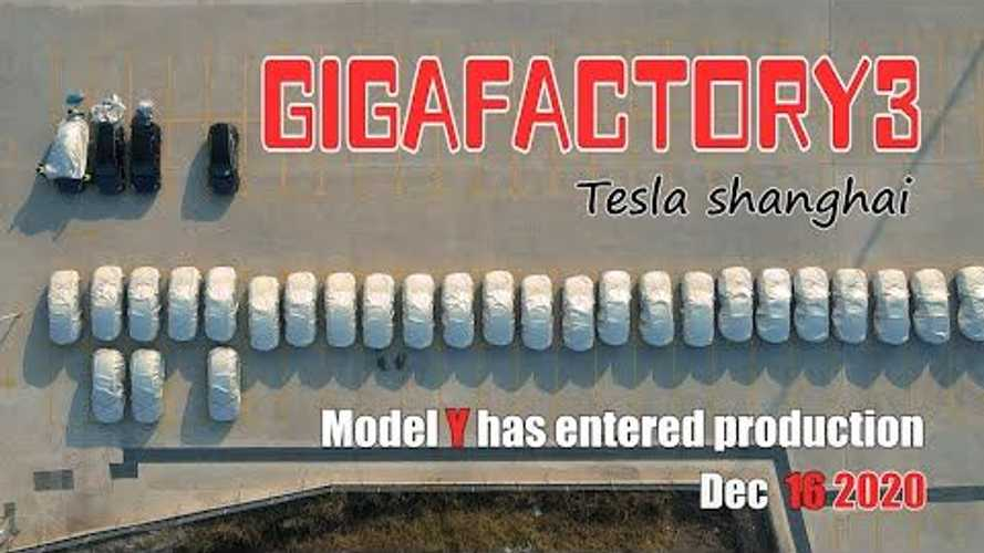 Tesla Model Y Production Underway At Shanghai Gigafactory
