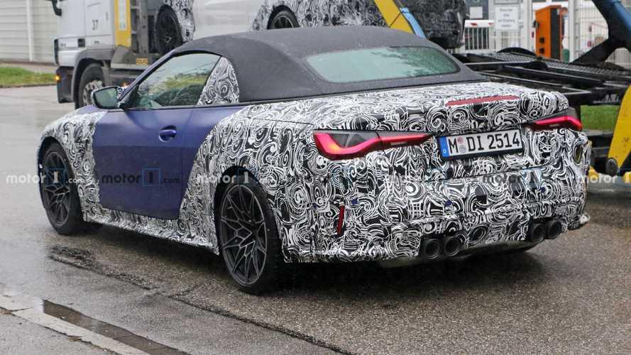 BMW M4 Cabrio 2021, fotos espía
