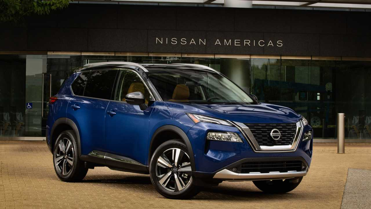 The Nissan Rogue is redesigned for 2021.