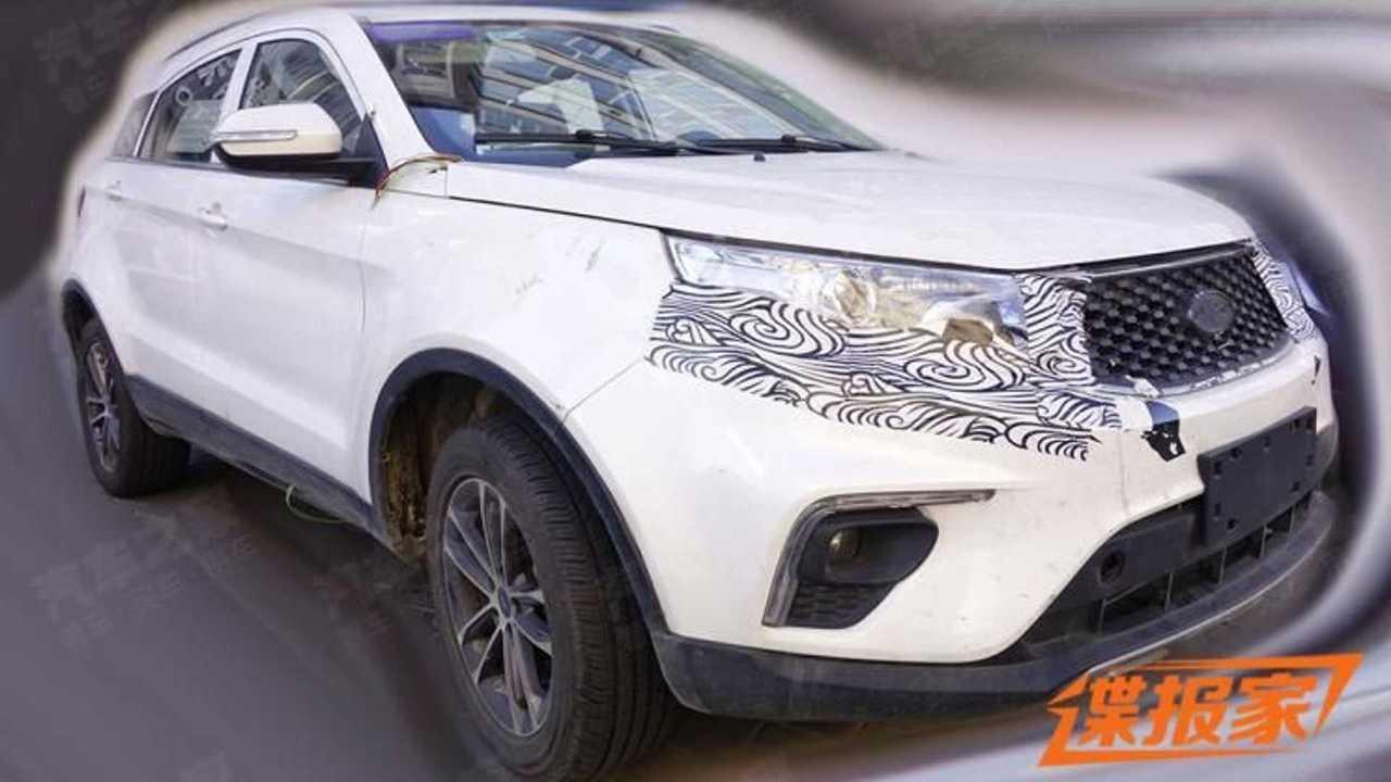 Ford Territory 2022 - Flagra na China