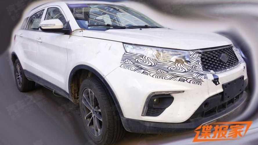 Flagra: Ford Territory vai ganhar seletor de câmbio giratório na linha 2022