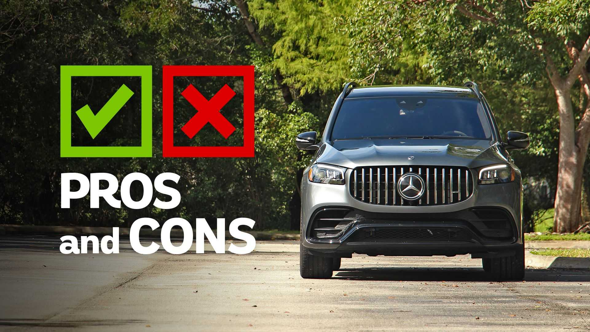 2021 Mercedes-AMG GLS 63: Pros And Cons