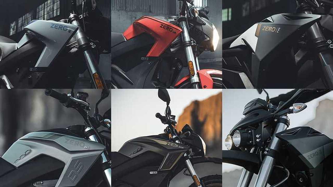 2021 Zero Motorcycles Lineup