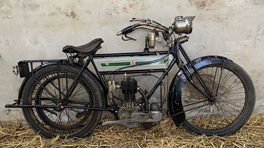 Joe Ryan Barn Find Motorcycle Collection