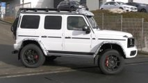 mercedes g class squared video