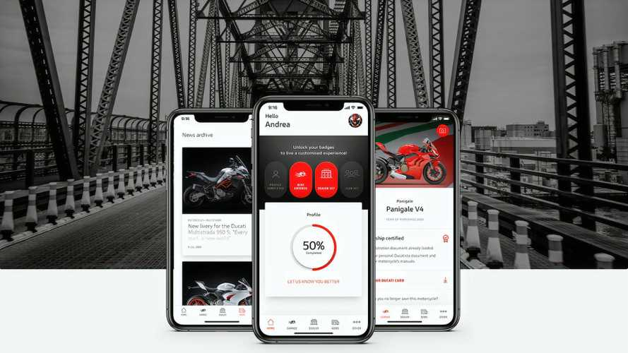 Ducati Launches MyDucati App To Keep You In The Loop