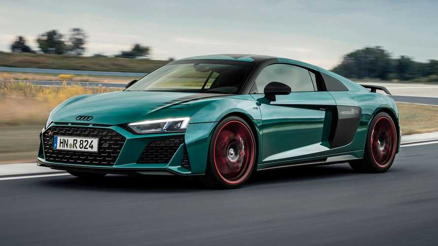 Audi R8 Green Hell Edition Pays Tribute To Nurburgring Racing Wins