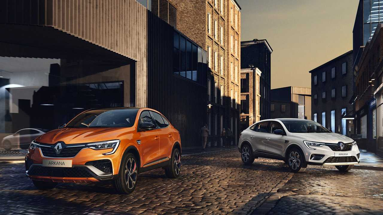 Renault Arkana negyed (2020)