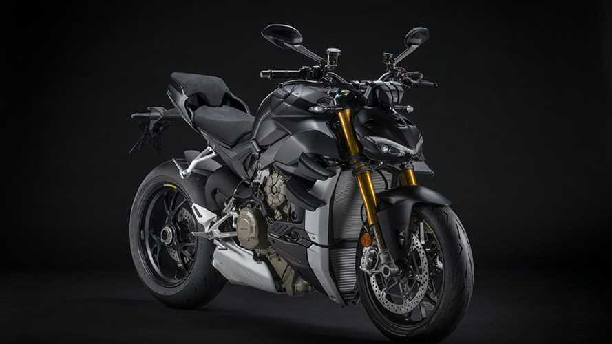 Ducati Streetfighter V4 2021, Euro 5 e colorazione Dark Stealth