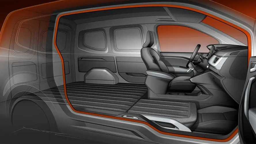 Nuovi Renault Kangoo Van e passeggeri