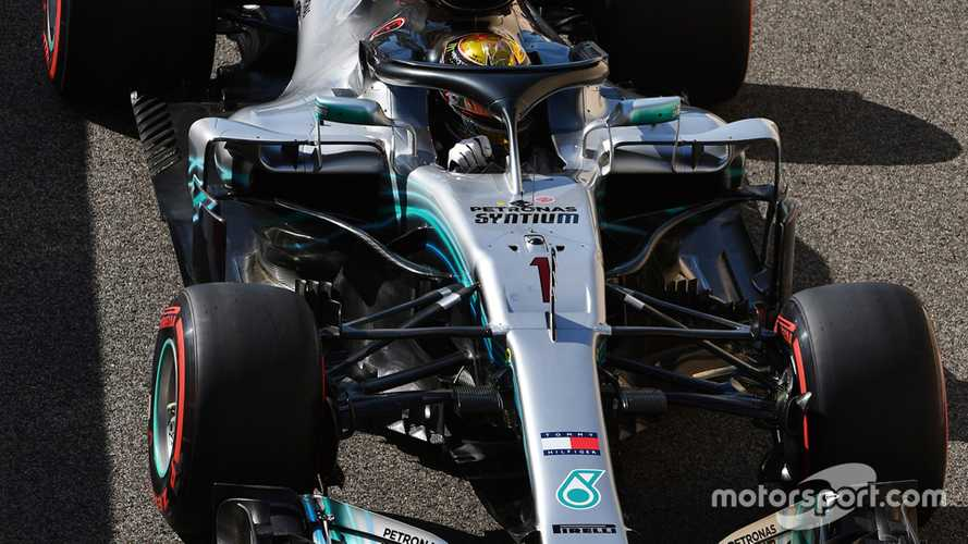 Hamilton allowed to run number one in Abu Dhabi