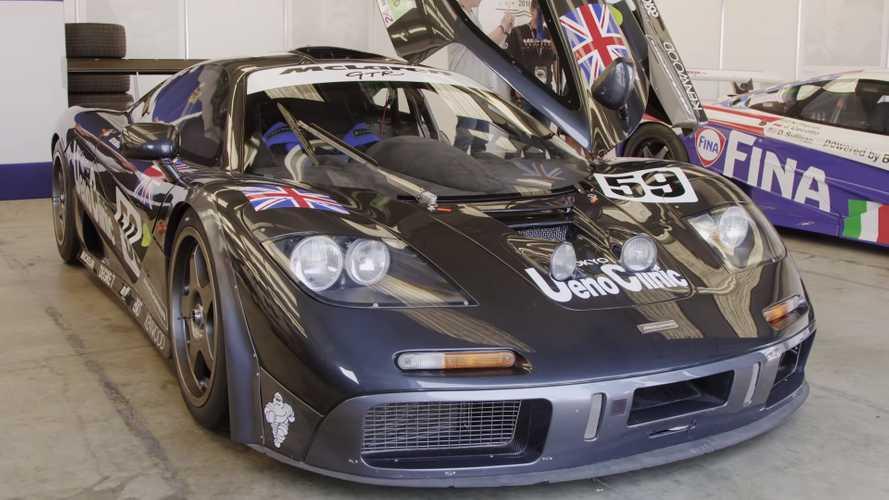 Watch Mika Hakkinen drive McLaren F1 GTR at Laguna Seca