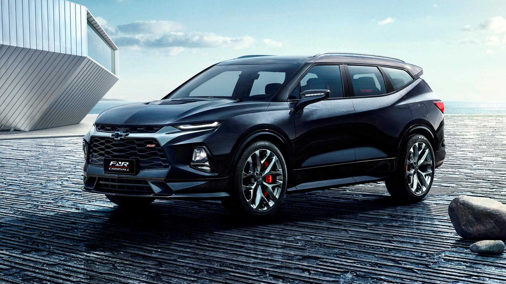Chevy Fnr Carry All Concept Previews Shape Of Future Bowtie Suvs