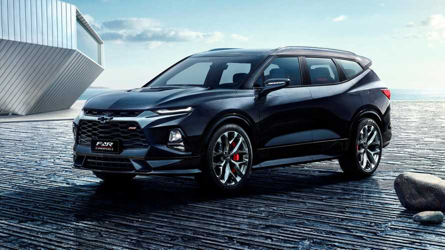 Chevrolet Blazer de sete lugares é antecipado pelo FNR Carry All Concept