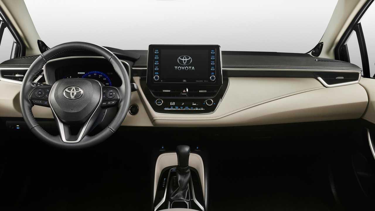 Toyota Corolla interior 2020