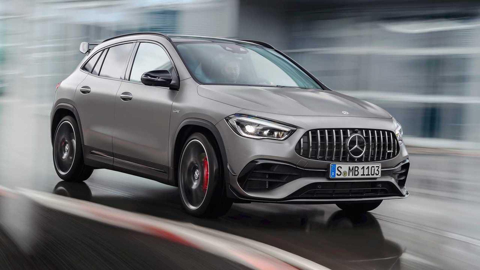 Mercedes-AMG GLA 45 S (2020) - Toutes les infos, toutes ...