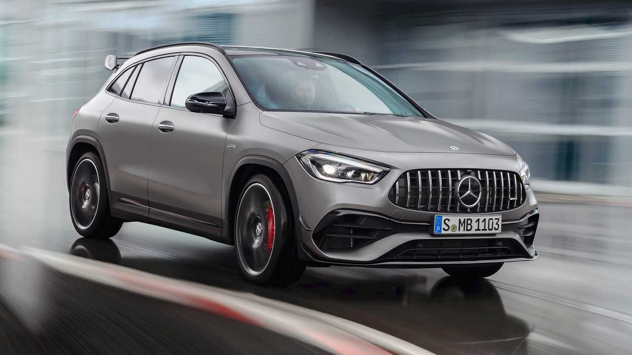 2021 Mercedes-AMG GLA 45 Debuts With 382 HP, Sporty Looks - Motor1