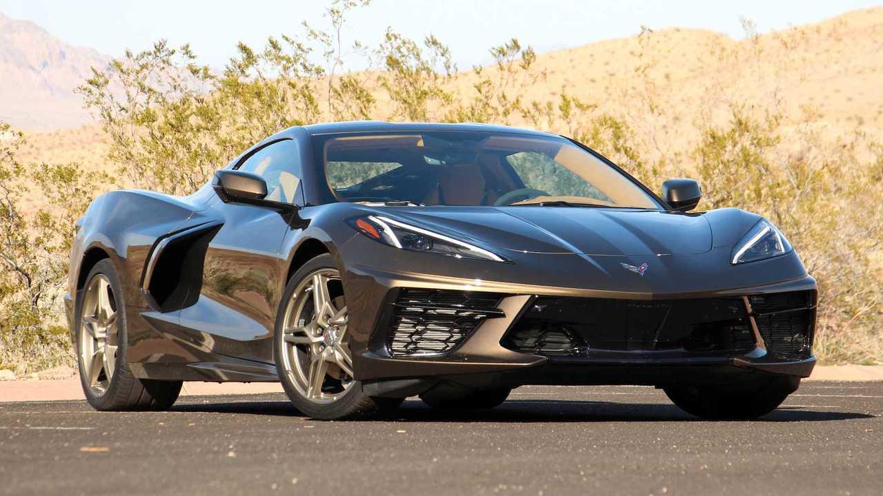 Первая поездка на Chevrolet Corvette 2020