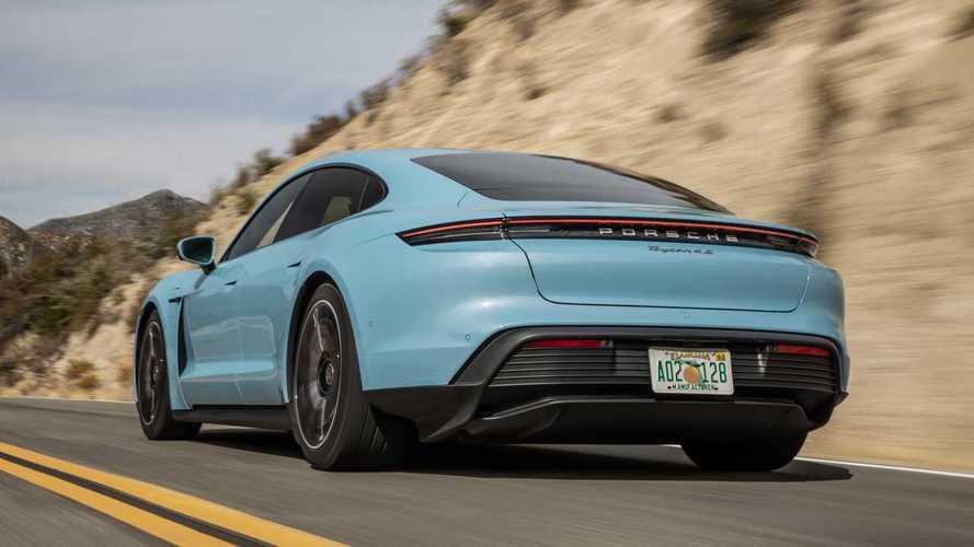 Porsche Taycan 4S de entrada chega aos Estados Unidos por US$ 109  mil