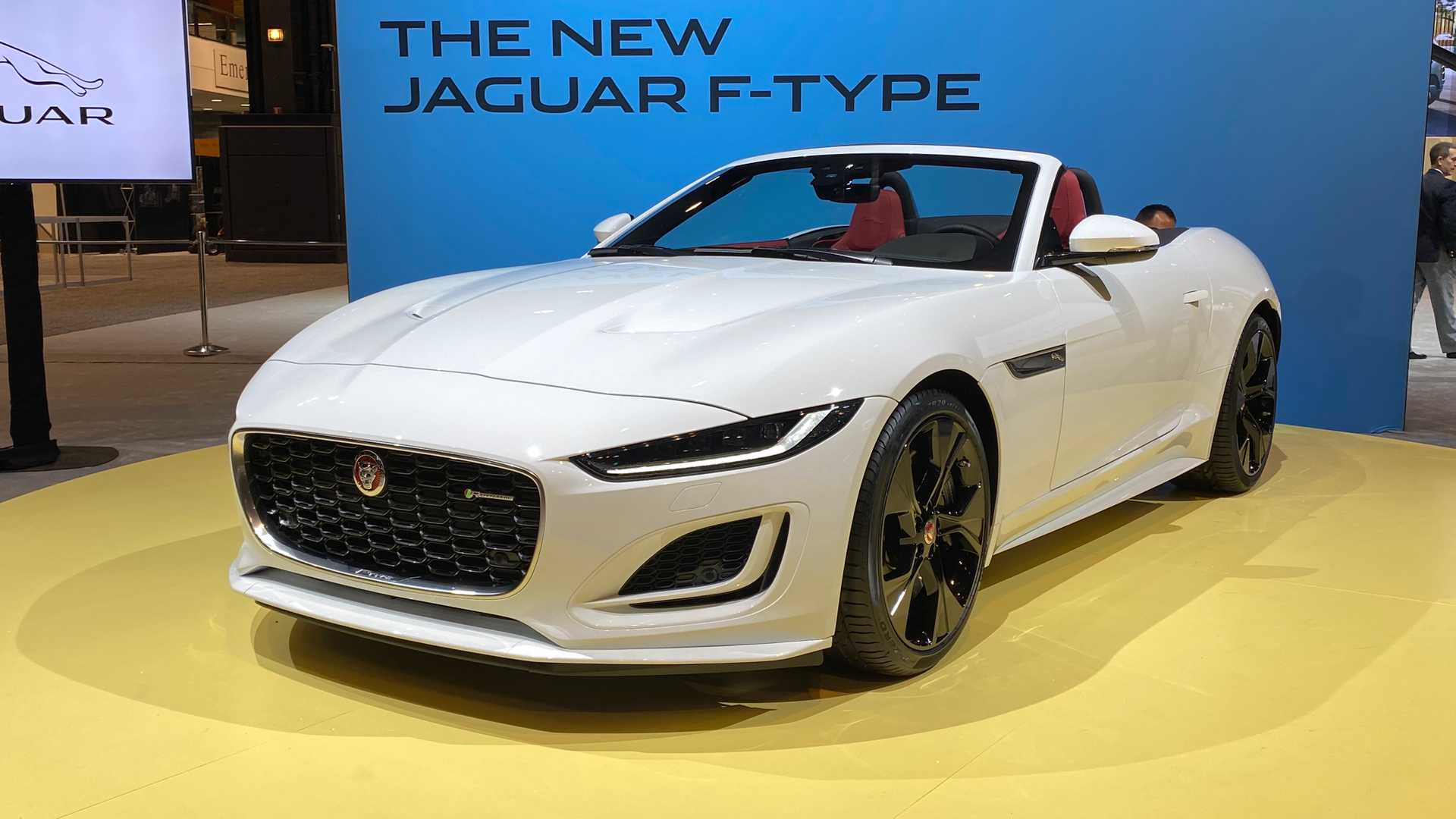 2021 jaguar ftype debuts with smoother shape new v8 option