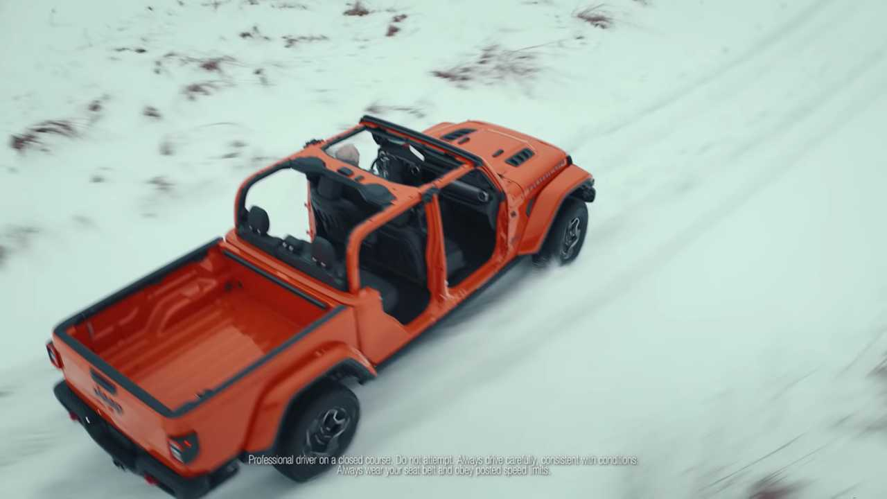 Jeep Gladiator Super Bowl Ad