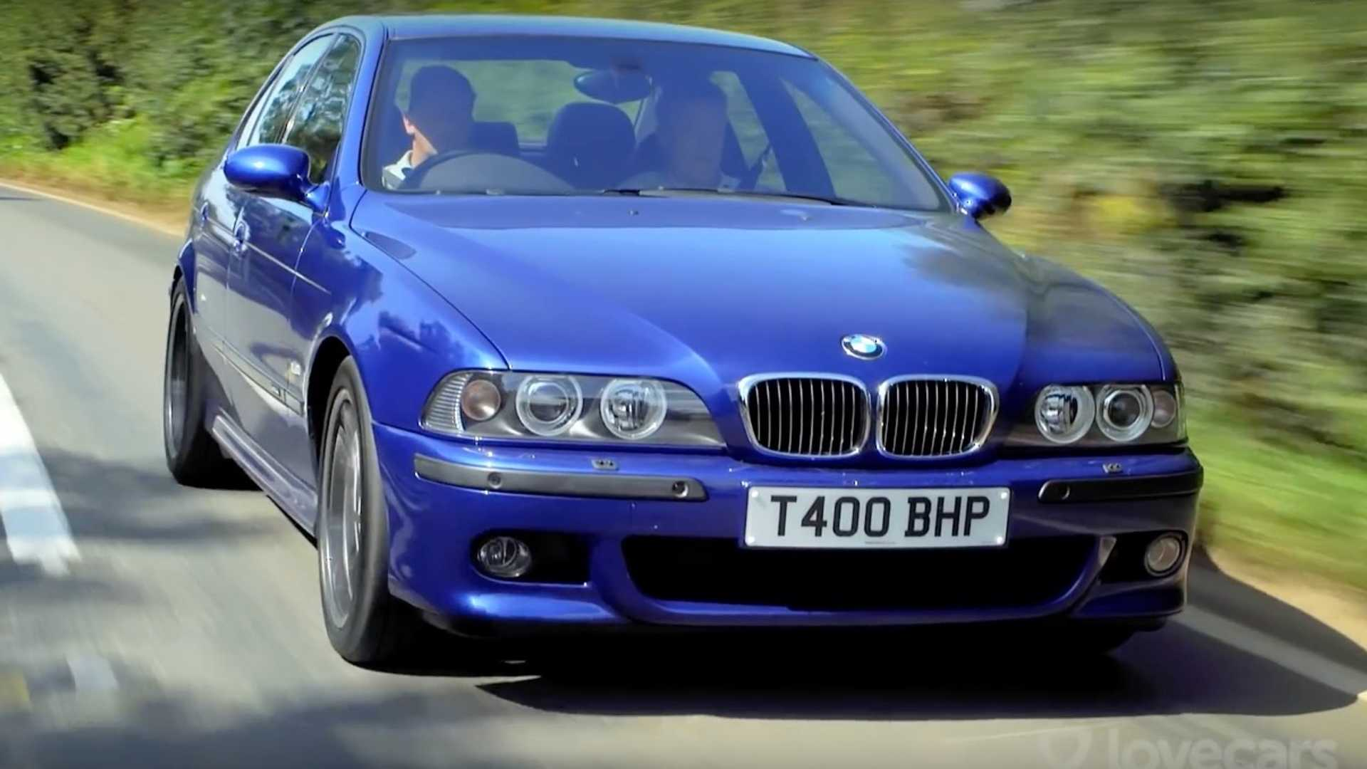 Tiff Needell drives all BMW M5s back-to-back