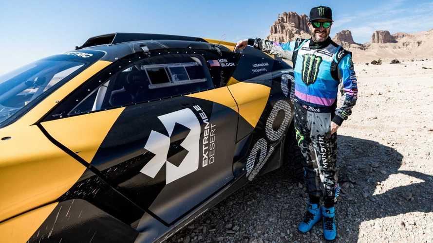 Extreme E, Ken Block tester per il campionato dei super SUV elettrici