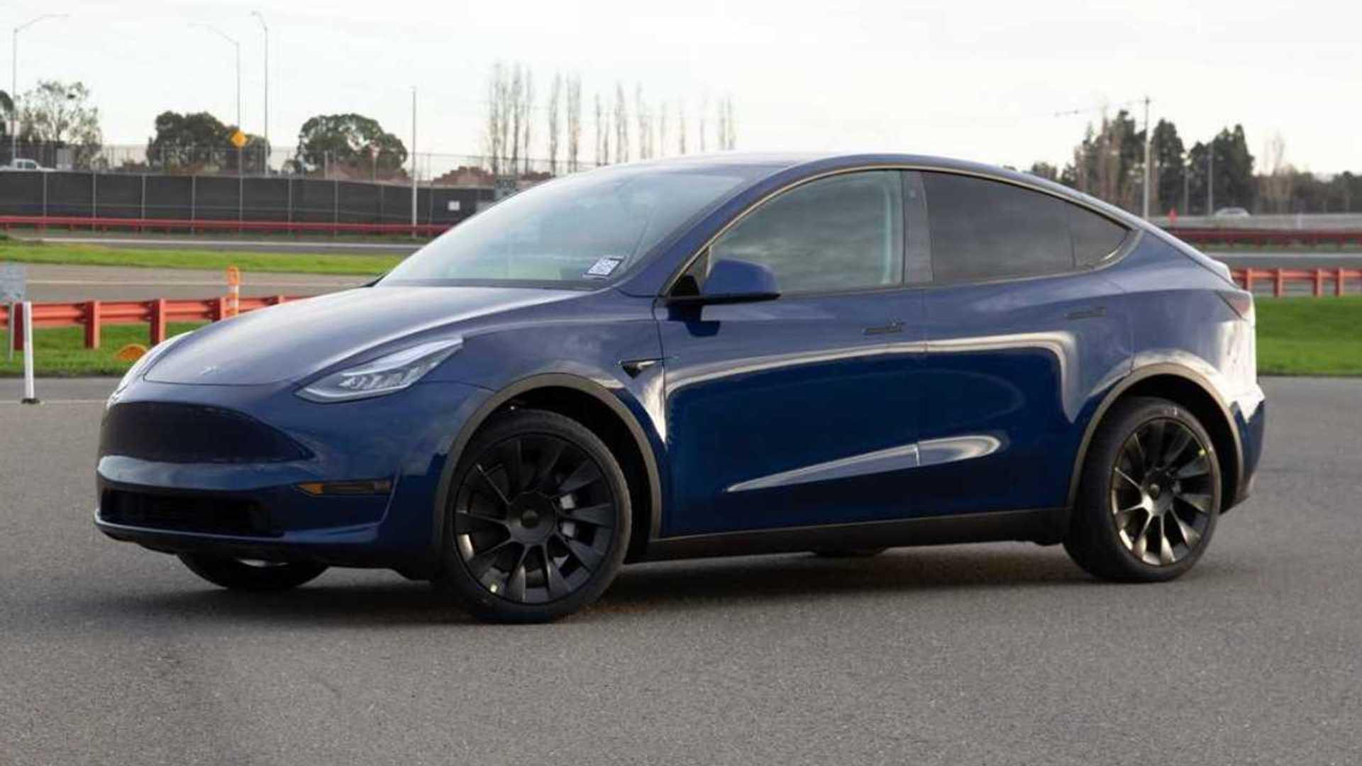Tesla Model Y - January 2020 Production vehicle