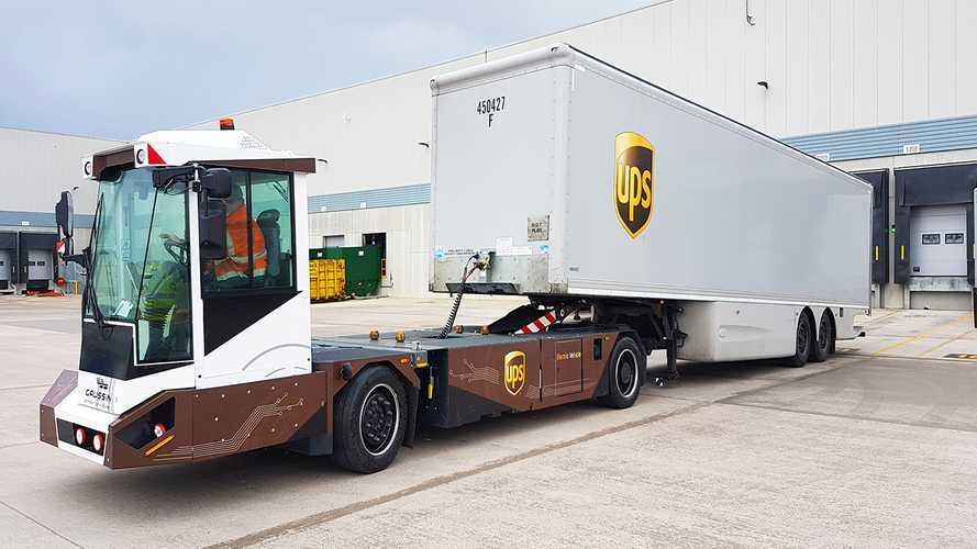 UPS  sperimenta la guida autonoma negli hub logistici
