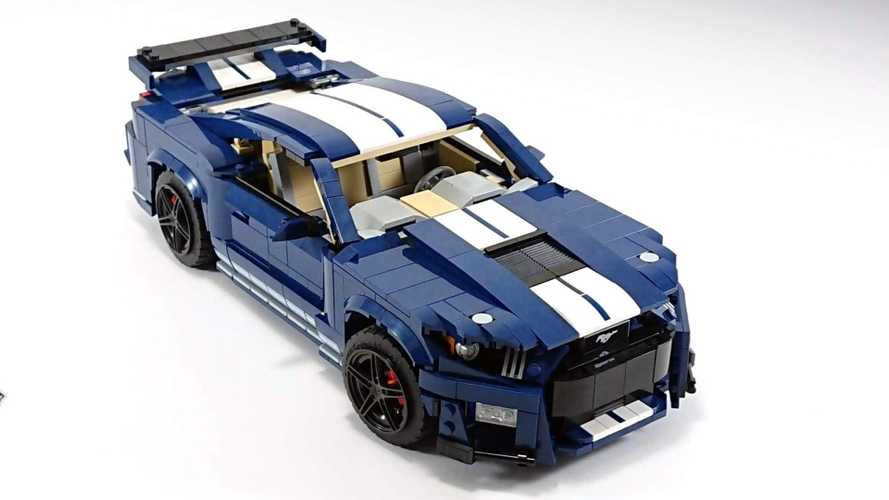 Guy builds brilliant Lego 2020 Shelby GT500 from official '67 Mustang set