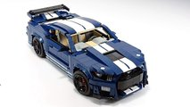 Ford Mustang Shelby GT500 Lego Custom