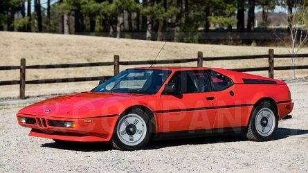 This one owner 1981 bmw m1 is crossing the auction block